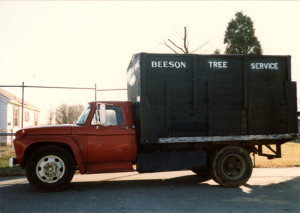 Red Beeson truck